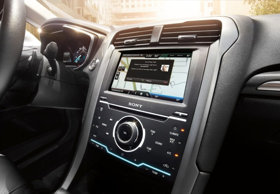 2016 Ford Fusion tech