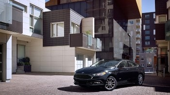 2017 Ford Fusion Black