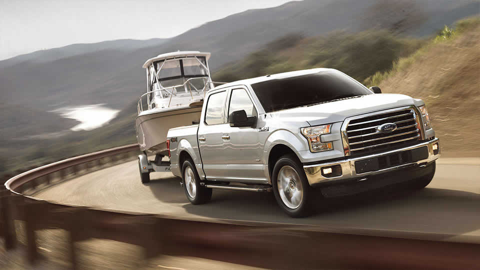2016 Ford F-150 XLT Towing