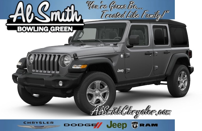 New 2018 Jeep Wrangler UNLIMITED SPORT S 4X4 Sport Utility Bowling Green OH