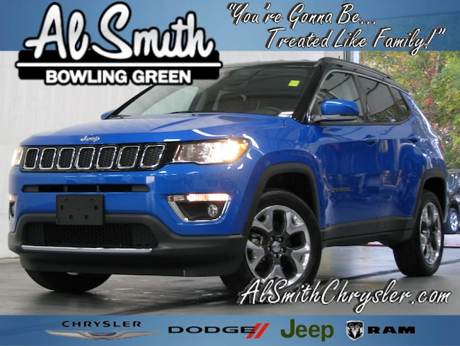 New 2019 Jeep Compass LIMITED 4X4 Sport Utility Bowling Green OH