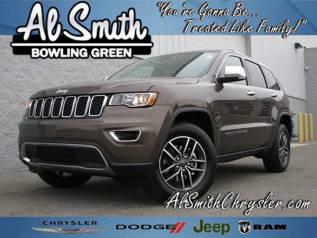 New 2019 Jeep Grand Cherokee LIMITED 4X4 Sport Utility Bowling Green OH