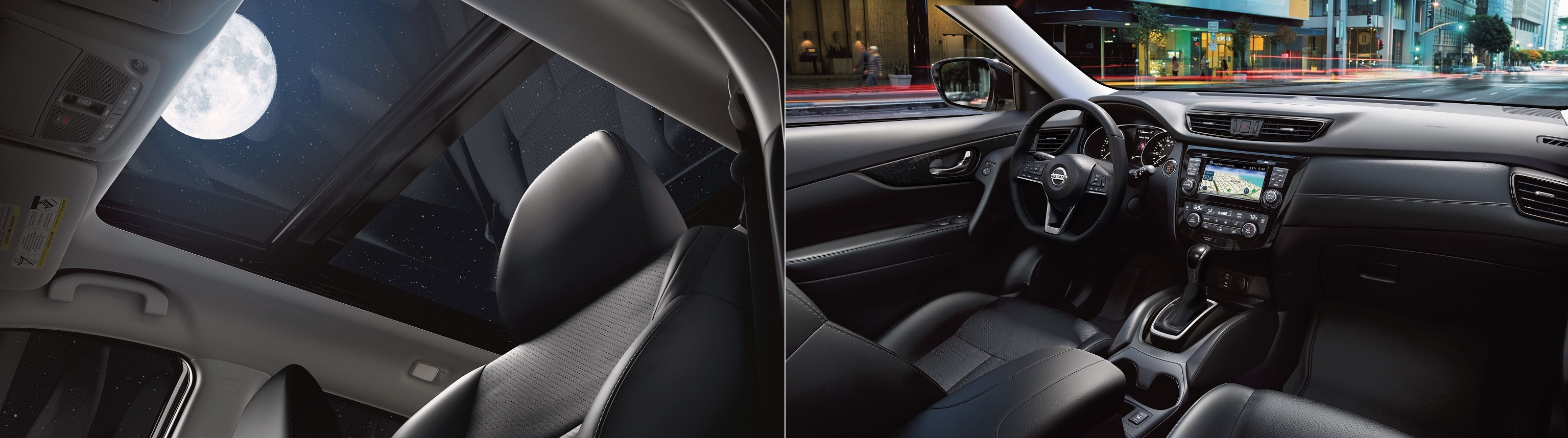Interior Design of 2020 Nissan Rogue - Buy at Alta Nissan located in Richmond Hill