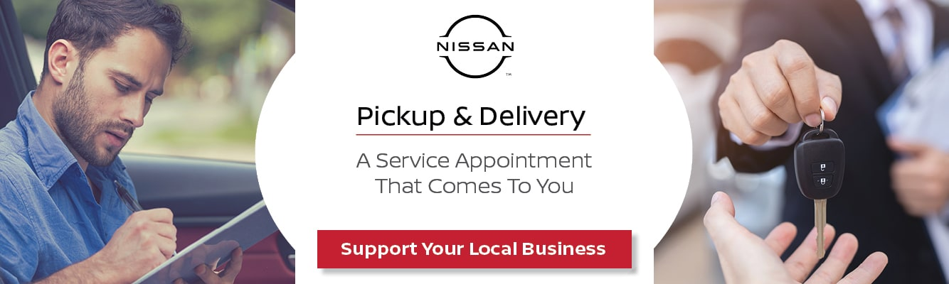 Pickup & Delivery - Maple Nissan