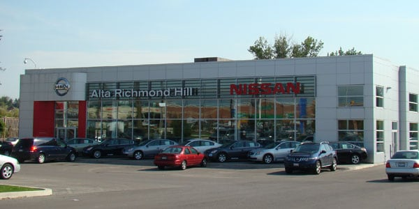 Alta Nissan Richmond Hill >> Hours & Directions | Alta Nissan Richmond Hill| Proudly Servicing The GTA With Quality Customer ...