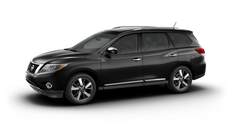 2014 Nissan Pathfinder Compare Models S Sv Sl Platinum