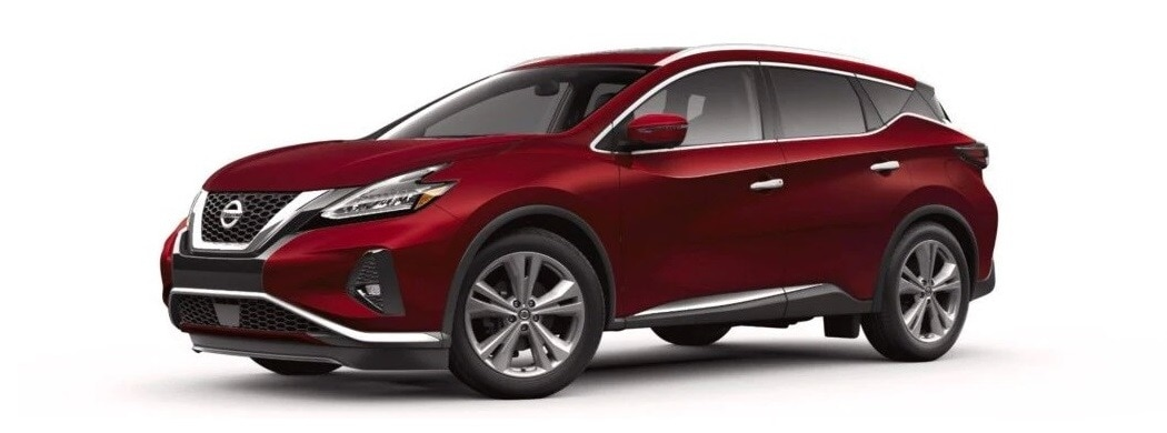 2020 Nissan Murano in red at Alta Nissan Woodbridge
