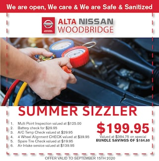 Nissan Summer Sizzler Special - July upload