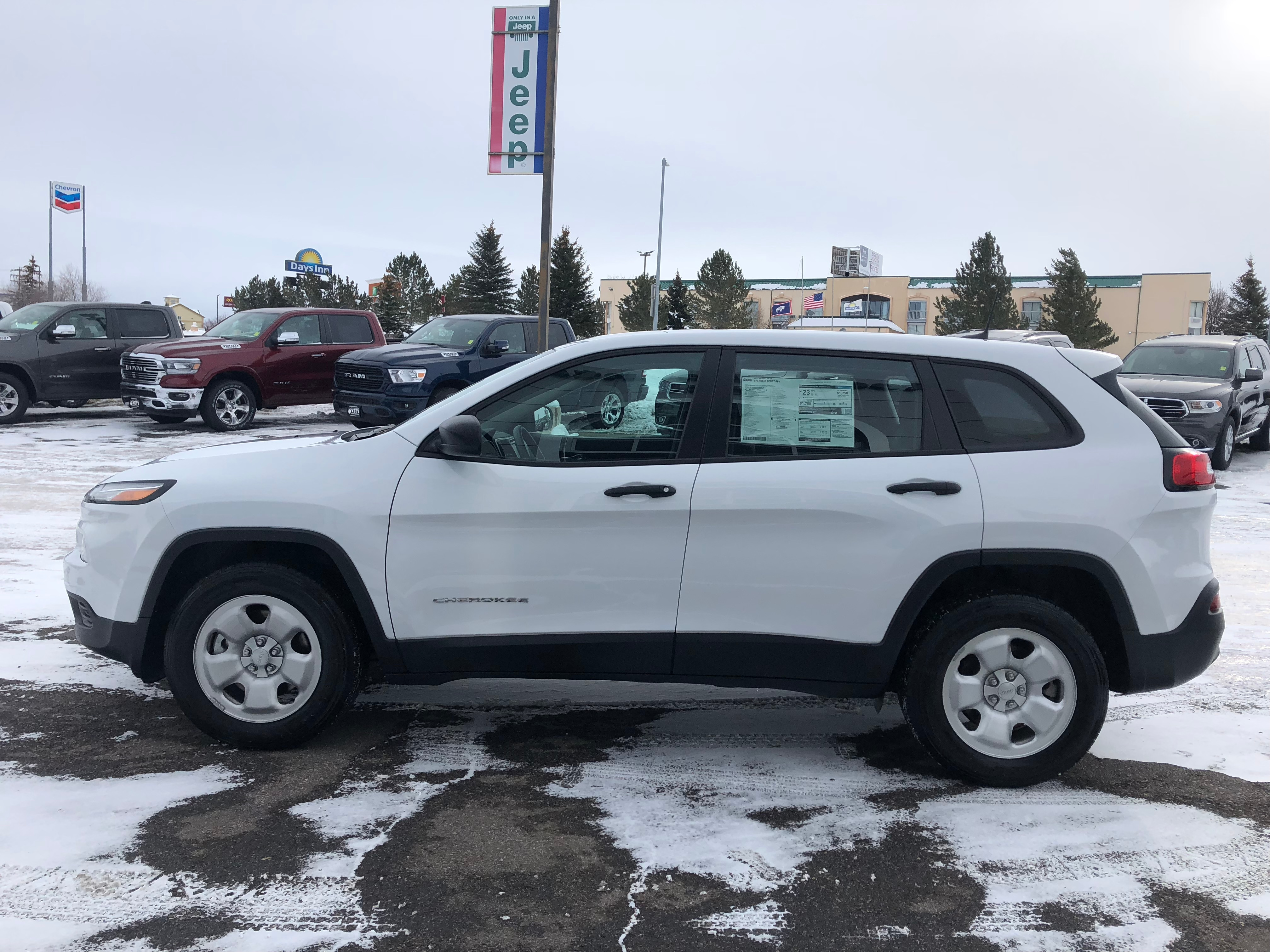 Used 2017 Jeep Cherokee For Sale at Rocky Mountain Yeti Evanston