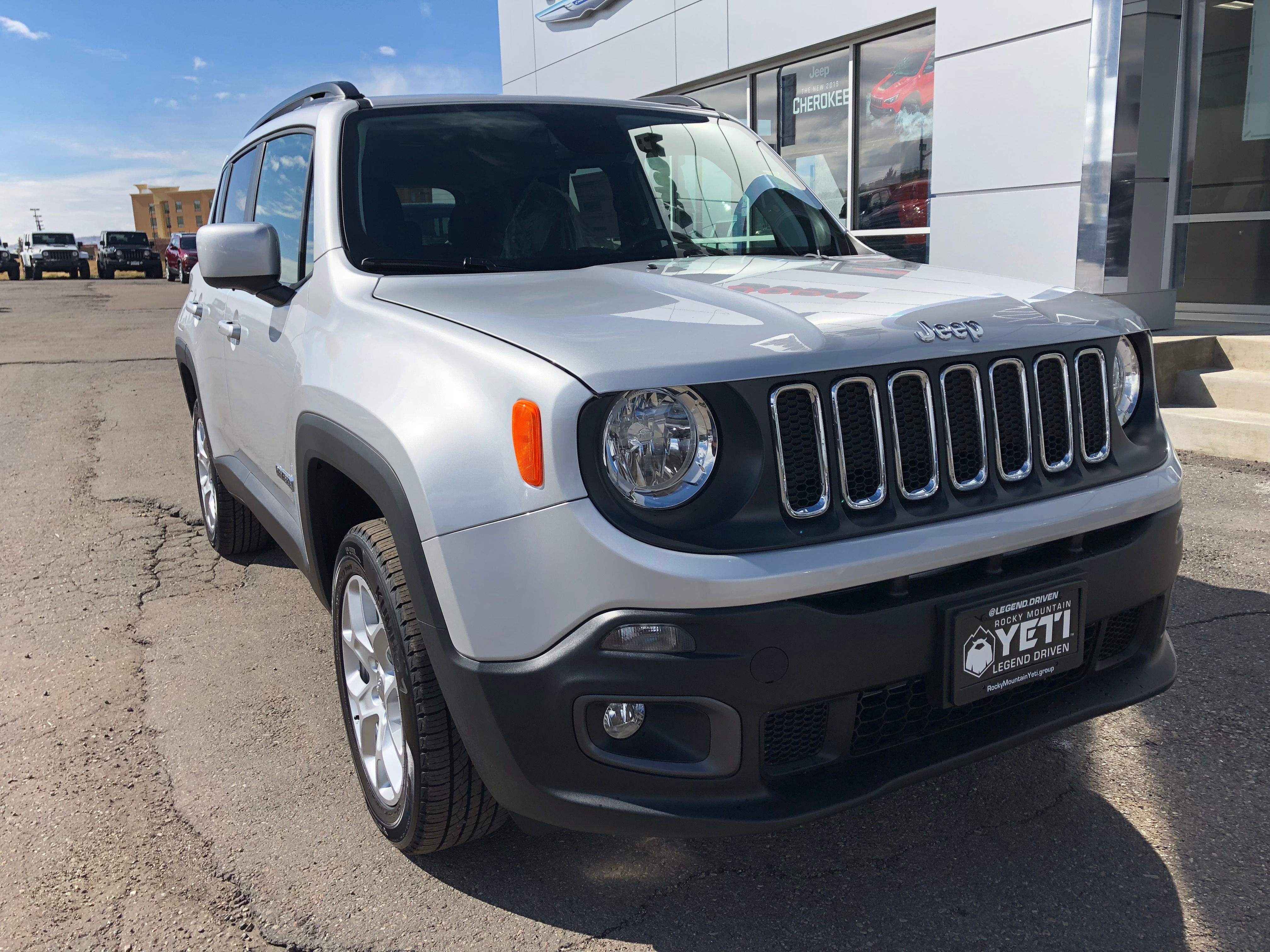 New 2018 Jeep Renegade For Sale at Rocky Mountain Yeti