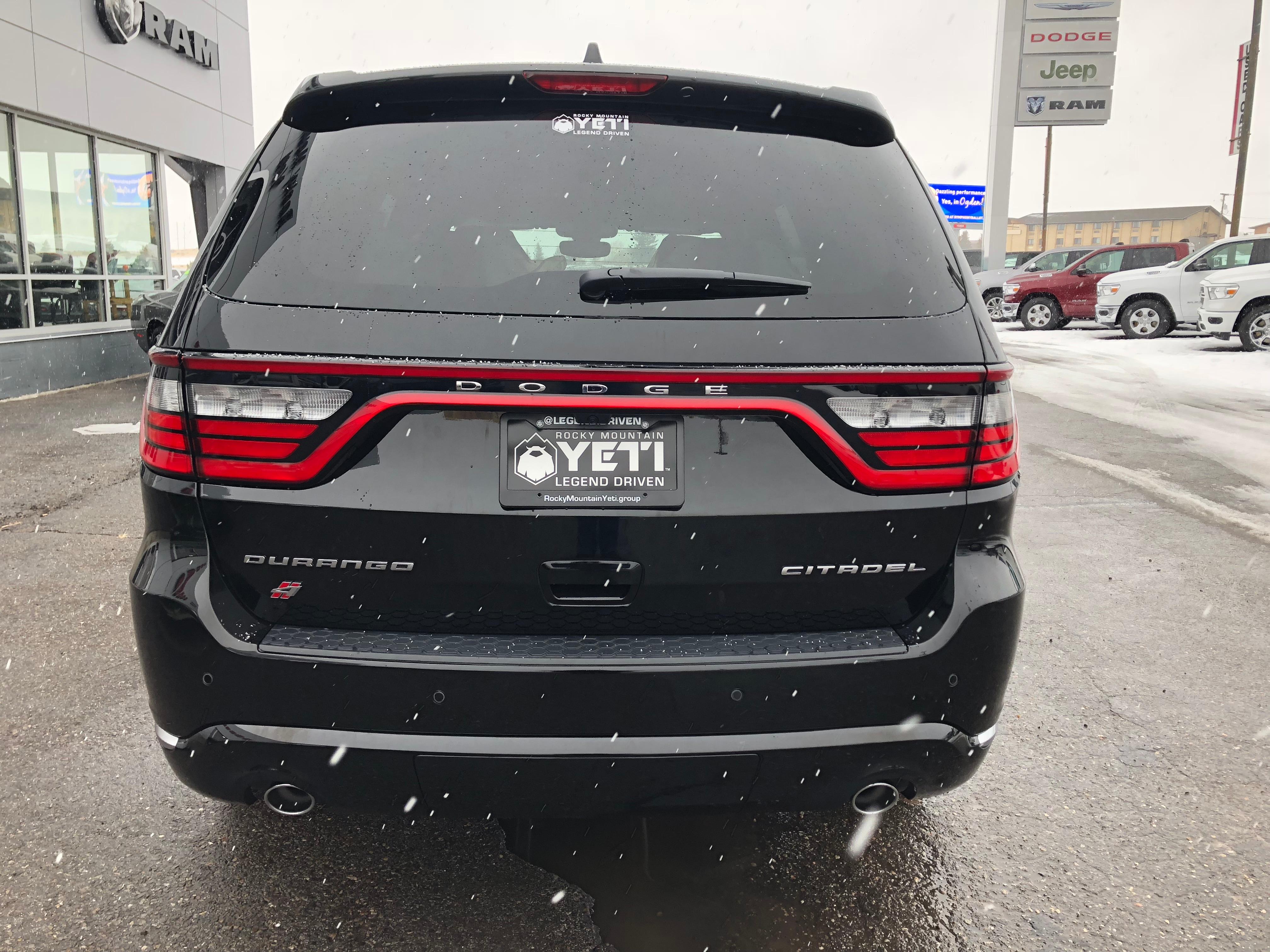 New 2018 Dodge Durango For Sale at Rocky Mountain Yeti