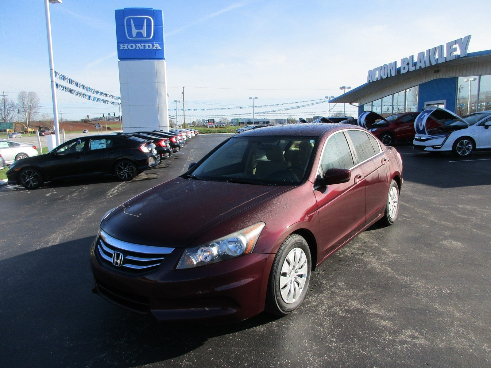 Used 2012 Honda Accord Sdn LX I4 Auto LX Somerset