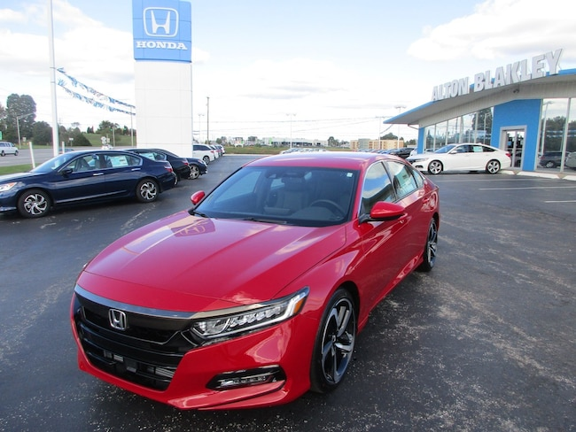 New 2018 Honda Accord Sport Sedan Somerset
