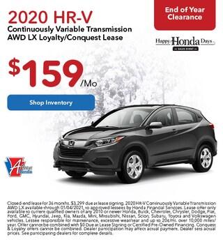2020 Honda HR-V - Lease