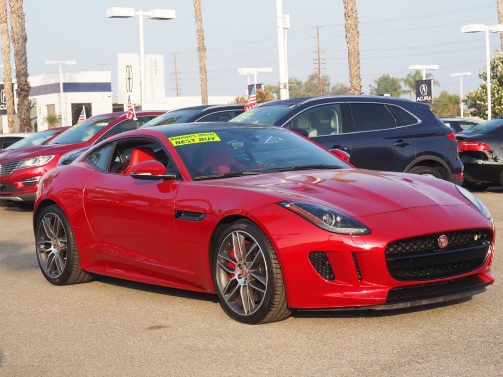 2016 Jaguar F TYPE R AWD R Coupe