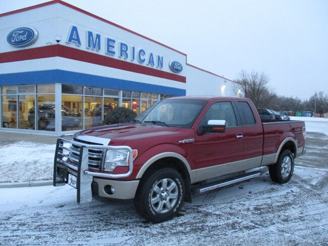 2013 Ford F-150 Lariat Cab; Super Cab; Styleside Long Bed