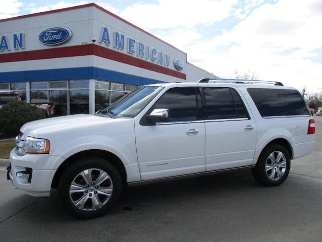 2015 Ford Expedition EL Platinum Wagon