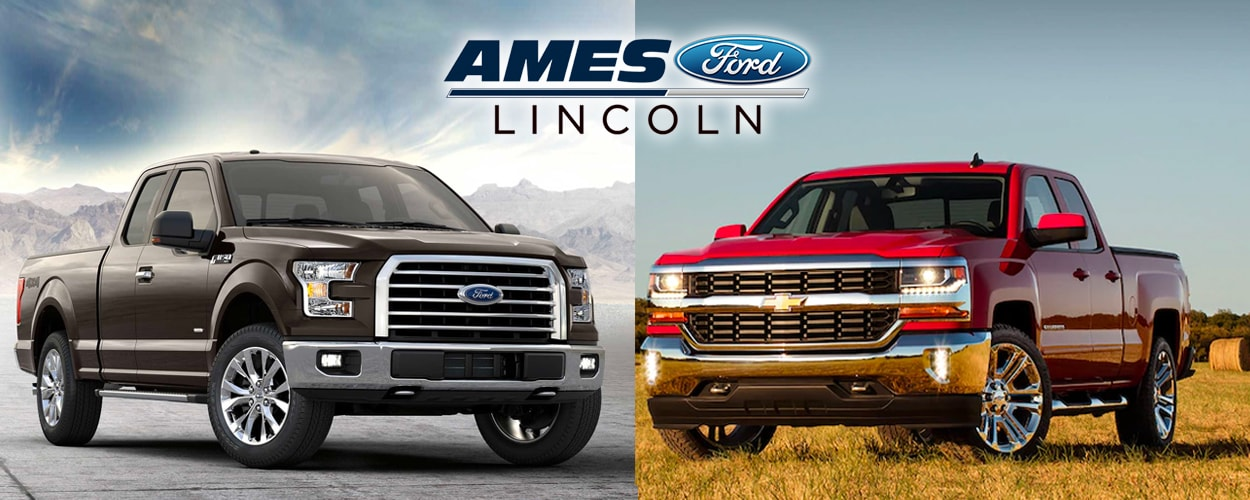 ford f 150 vs chevy silverado ankeny overview comparison. Black Bedroom Furniture Sets. Home Design Ideas