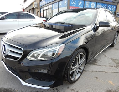 2014 Mercedes-Benz E-Class E350 4MATIC FULL LOAD PANO-ROOF NAVI Sedan
