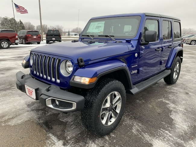 new 2019 jeep wrangler unlimited sahara 4x4 for sale in st cloud mn 1c4hjxen3kw507794. Black Bedroom Furniture Sets. Home Design Ideas