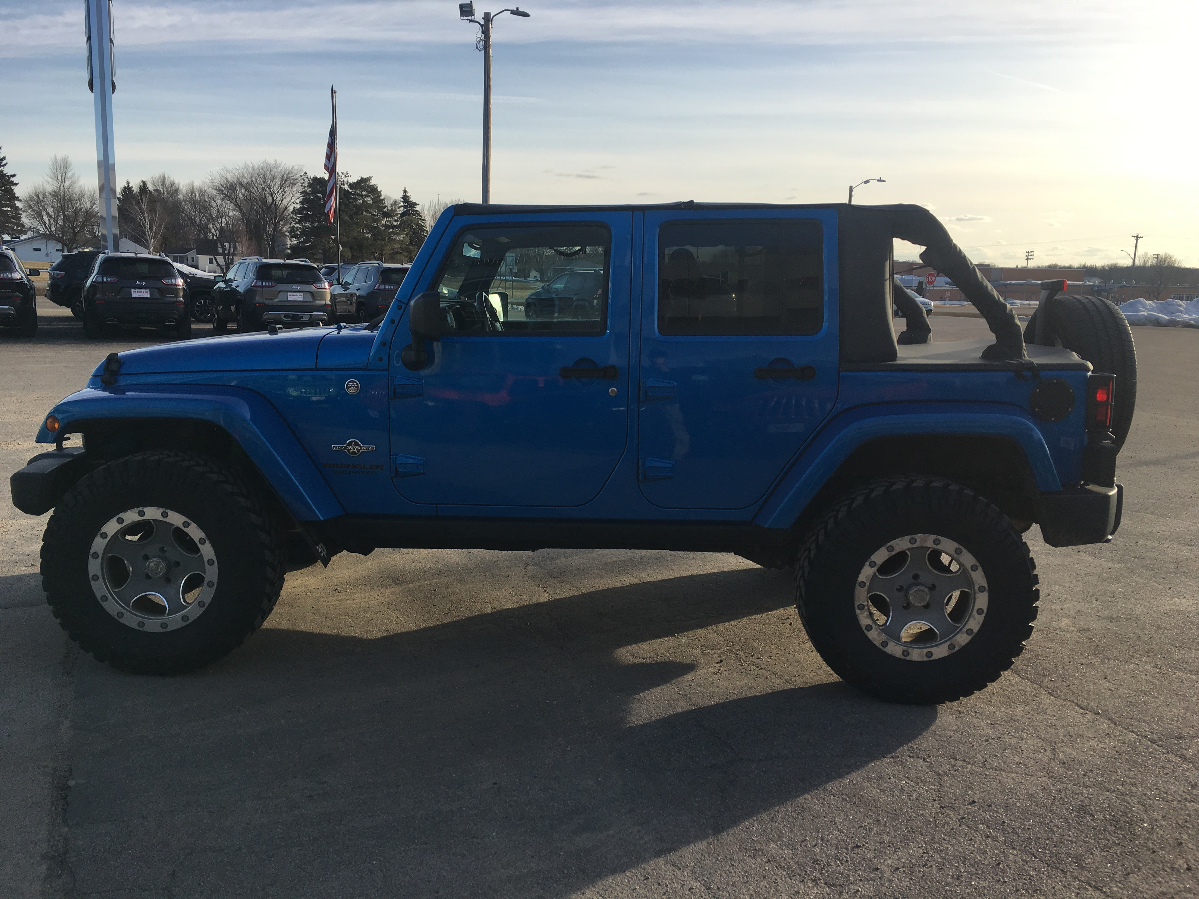 0dc04fb0 Used 2014 Jeep Wrangler Unlimited For Sale at A. M. Maus and Son | VIN:  1C4BJWDG8EL246445