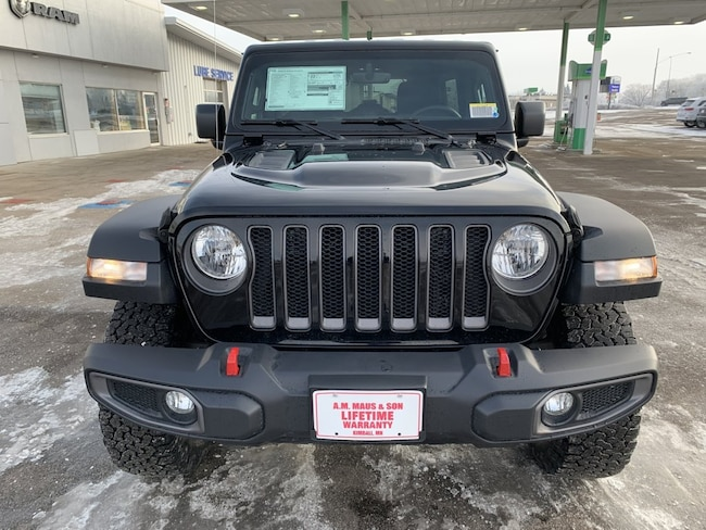 new 2019 jeep wrangler unlimited rubicon 4x4 for sale in st cloud mn 1c4hjxfn5kw520979. Black Bedroom Furniture Sets. Home Design Ideas