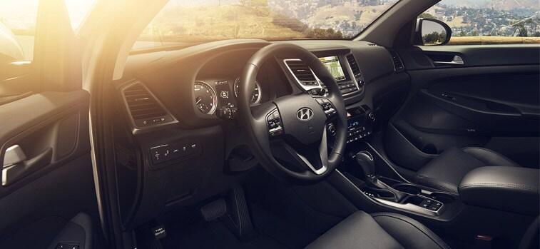 Luxurious Interior of Hyundai Tucson