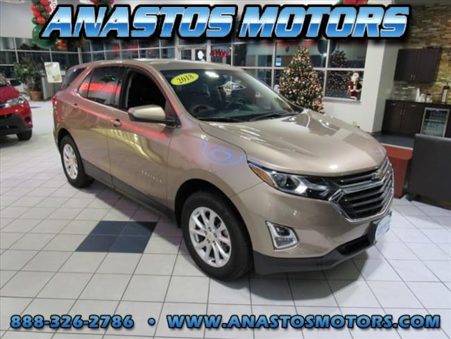 Used 2018 Chevrolet Equinox LT 4x4 LT  SUV w/1LT For Sale Kenosha, WI