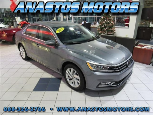 Used 2018 Volkswagen Passat 2.0T SE 2.0T SE  Sedan For Sale Kenosha, WI