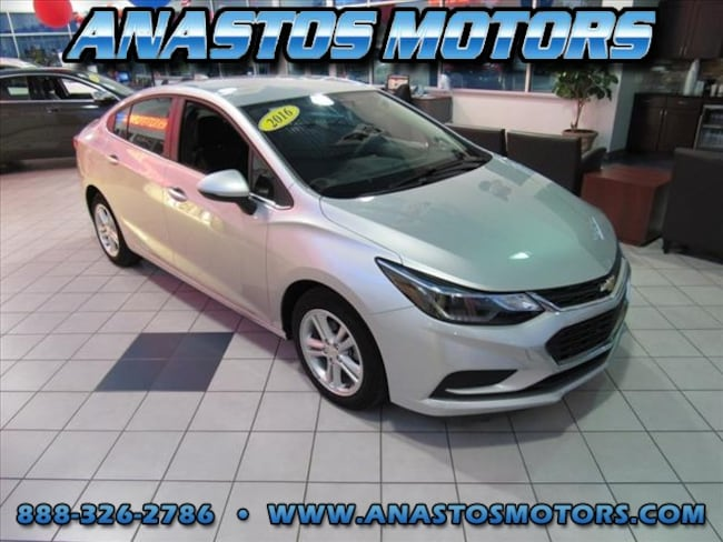 Used 2016 Chevrolet Cruze LT Auto LT Auto  Sedan w/1SD For Sale Kenosha, WI