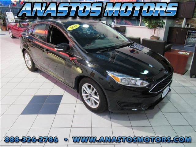 Used 2015 Ford Focus SE SE  Sedan for sale in Mount Pleasant, WI