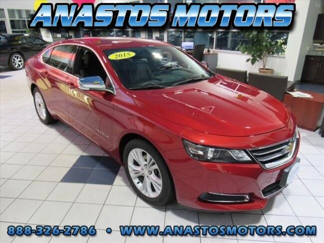 Used 2015 Chevrolet Impala LT LT  Sedan w/2LT For Sale Kenosha, WI