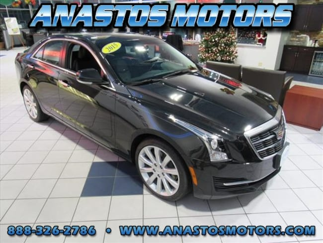 Used 2015 Cadillac ATS 3.6L Luxury AWD 3.6L Luxury  Sedan For Sale Kenosha, WI