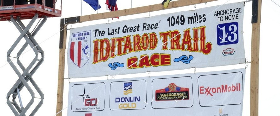 Anchorage Chrysler Dodge Jeep Ram sponsors The Last Great Race on Earth, Alaska's Iditarod Trail Sled Dog Race.