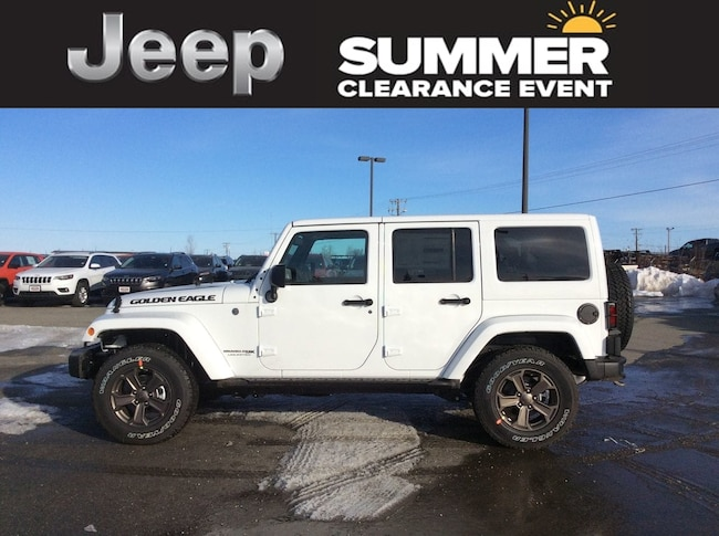 2018 Jeep Wrangler JK Unlimited Golden Eagle SUV