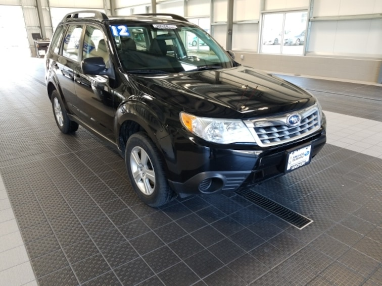 Used 2012 Subaru Forester 2.5X AWD W/ ALLOY WHEEL PACKAGE SUV in North Smithfield near Providence