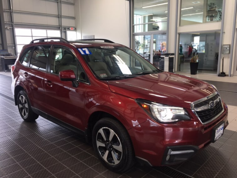 Used 2017 Subaru Forester LIMITED 2.5I LIMITED AWD W/ EYESIGHT NAVIGATION BS SUV in North Smithfield near Providence