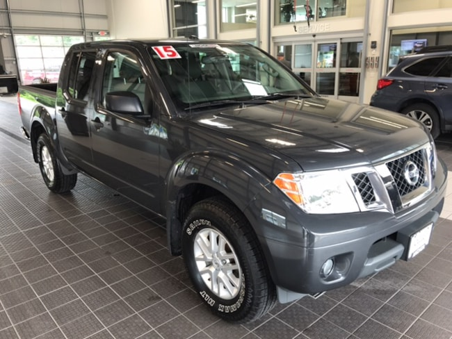 Used 2015 Nissan Frontier SV 4X4 CC in North Smithfield near Providence