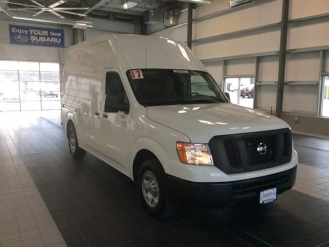 Used 2017 Nissan NV Cargo NV2500 HD SV HIGHTOP W/ TECHNOLOGY PACKAGE VAN in North Smithfield near Providence