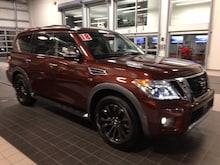 2018 Nissan Armada PLATINUM 4X4 W/ CAPTAIN CHAIR PACKAGE SUV