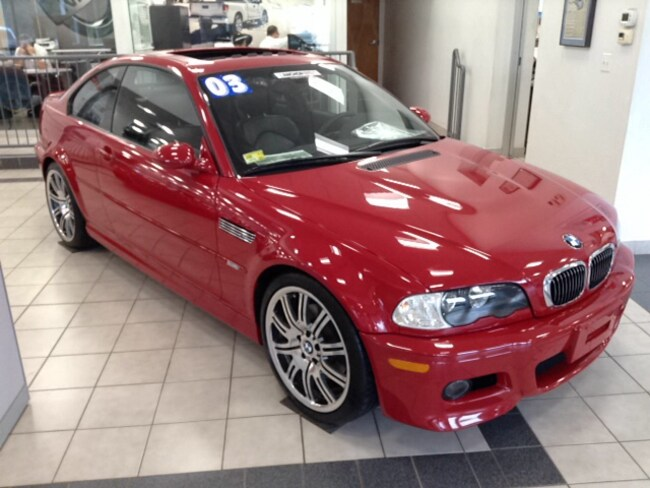 Used 2003 Bmw M3 For Sale In North Smithfield Providence Ri Vin