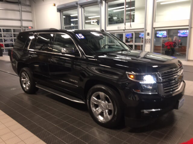 2015 Chevrolet Tahoe LTZ 4X4 W/ NAVIGATION TV/DVD BSD ACTIVE CRUISE SUV