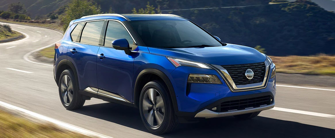 2021 Nissan Rogue for sale blue