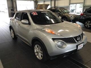 Bargain Used 2013 Nissan Juke SV AWD SUV near Providence