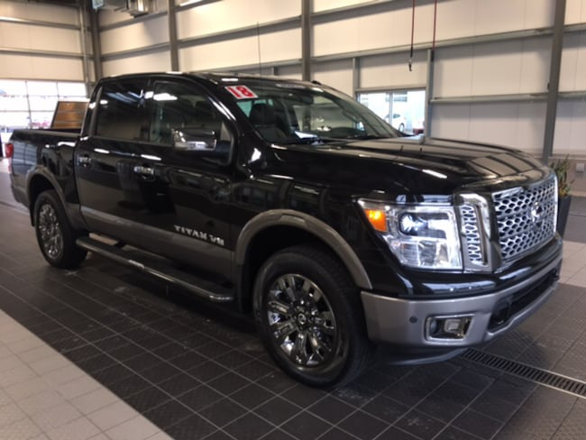 Used 2018 Nissan Titan PLATINUM RESERVE 4X4 W/ LIFTIME WARRANTY CC in North Smithfield near Providence