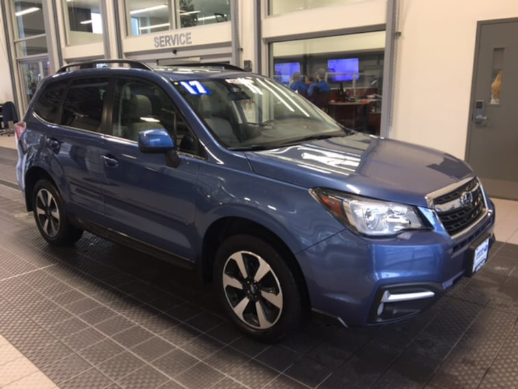 Used 2017 Subaru Forester LIMITED SUV in North Smithfield near Providence