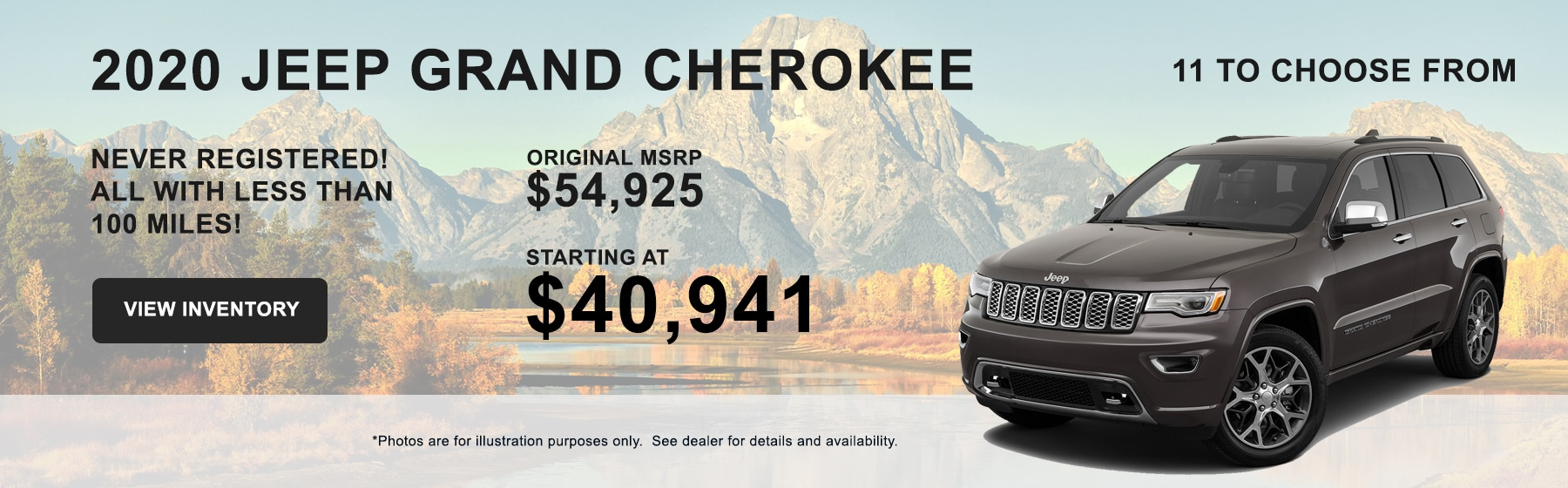 2020 Jeep Grand Cherokee Buy for $40,491