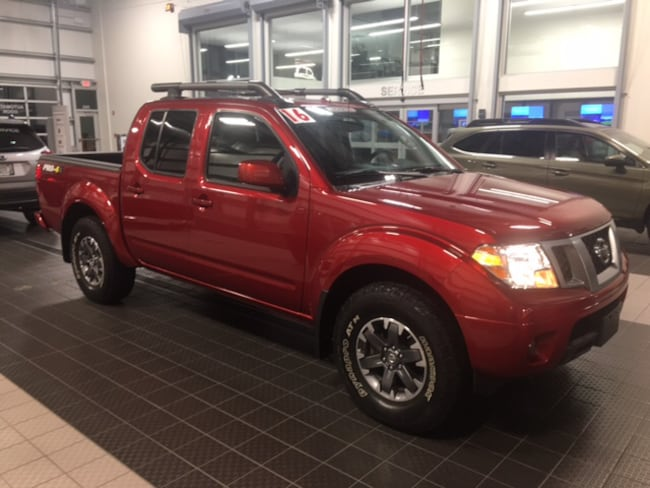 Used 2016 Nissan Frontier PRO-4X 4X4 W/ MOONROOF NAVIGATION LEATHER TOW CC in North Smithfield near Providence