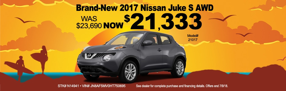 Lovely 2017 Nissan Juke Offer From Anchor Nissan