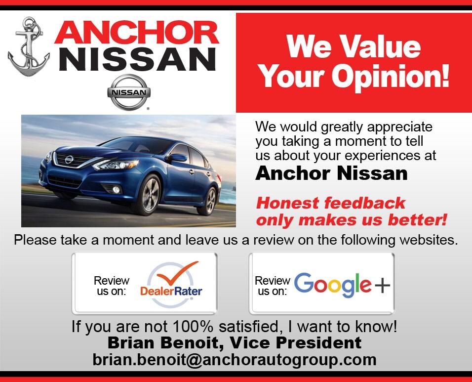 Anchor Nissan ...